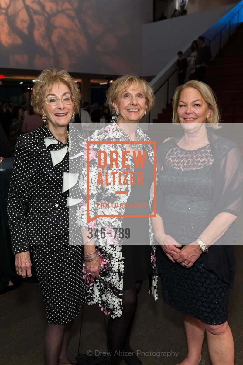 Barbara Wanvig, Judith Heuser, Kate Sullivan, ALONZO KING LINE'S Ballet Spring Gala 2015, US, April 11th, 2015,Drew Altizer, Drew Altizer Photography, full-service agency, private events, San Francisco photographer, photographer california