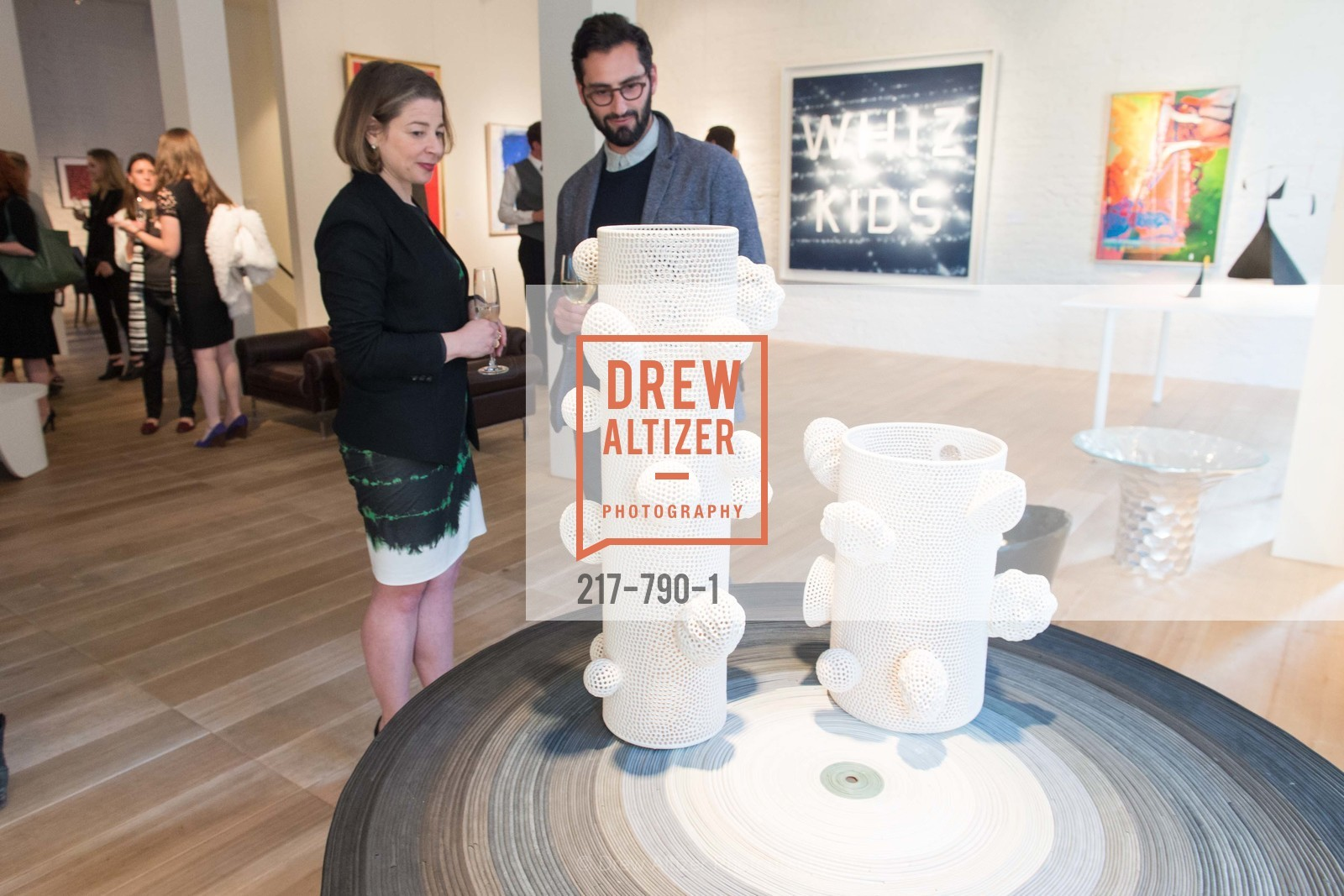 Melissa Emergui, Joseph Becker, Post War and Contemporary Preview at HEDGE GALLERY, US, April 16th, 2015,Drew Altizer, Drew Altizer Photography, full-service agency, private events, San Francisco photographer, photographer california