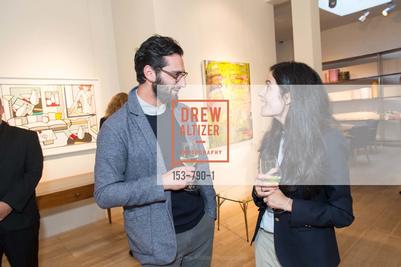 Joseph Becker, Florie Hutchinson, Post War and Contemporary Preview at HEDGE GALLERY, US, April 16th, 2015,Drew Altizer, Drew Altizer Photography, full-service agency, private events, San Francisco photographer, photographer california