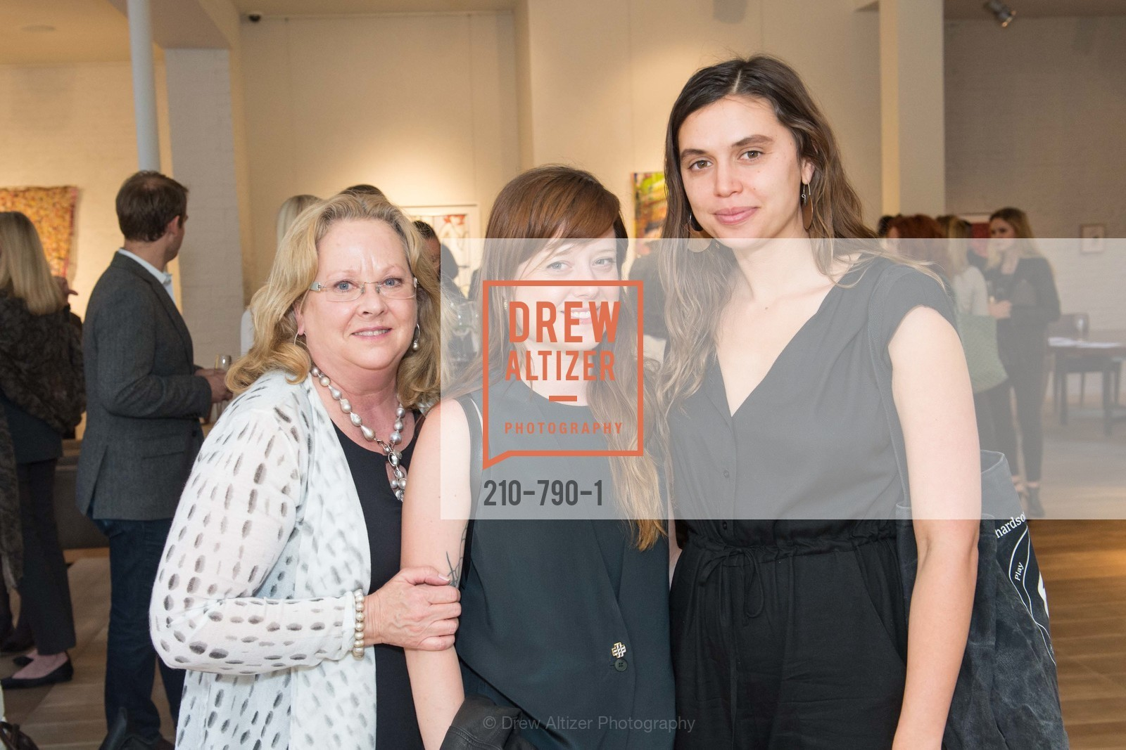 Susan Geremia, Lauren Geremia, Jacqueline Tobia, Post War and Contemporary Preview at HEDGE GALLERY, US, April 16th, 2015,Drew Altizer, Drew Altizer Photography, full-service agency, private events, San Francisco photographer, photographer california