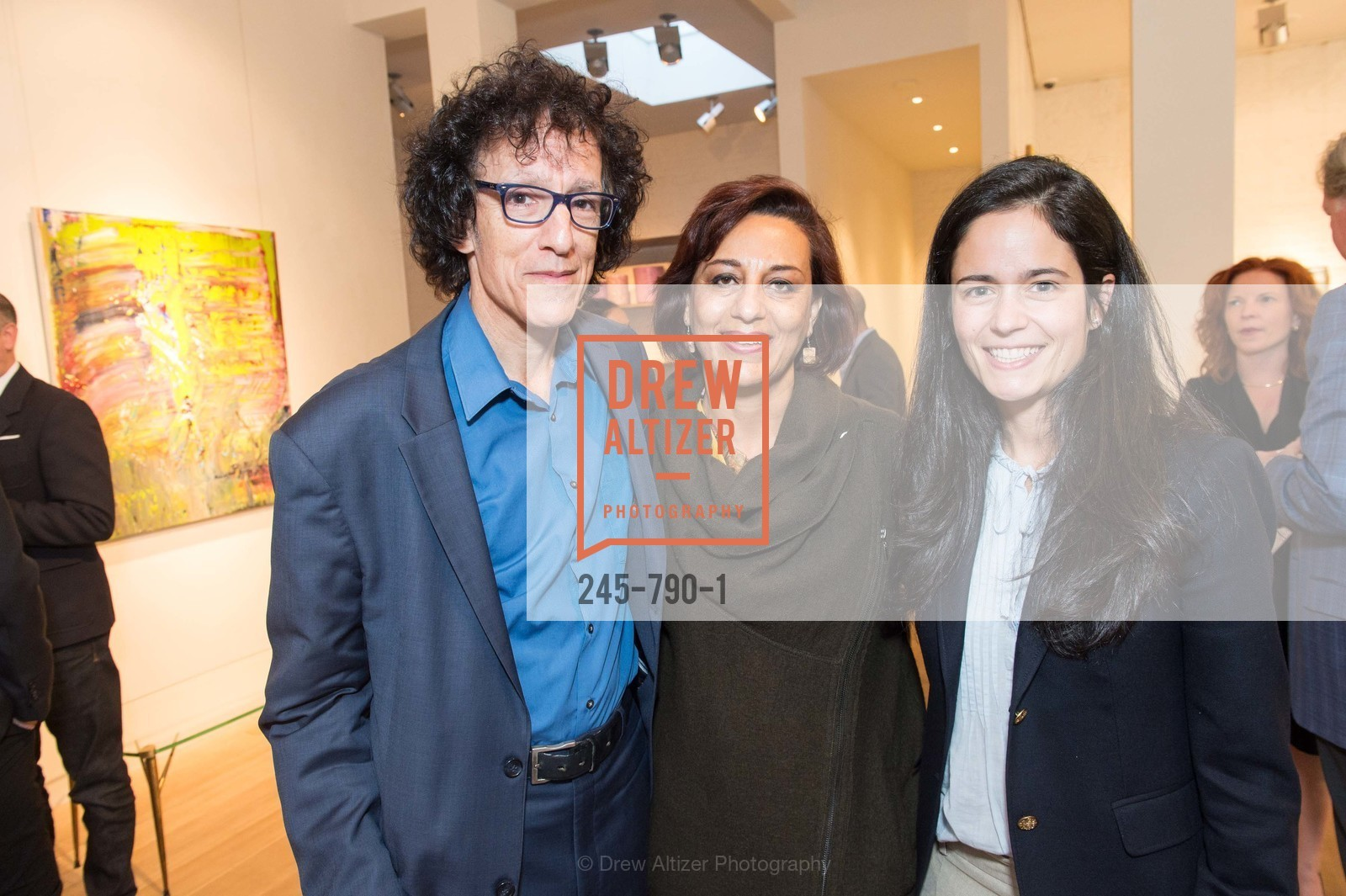 Jonathan Curiel, Nazila Tobaei, Florie Hutchinson, Post War and Contemporary Preview at HEDGE GALLERY, US, April 16th, 2015,Drew Altizer, Drew Altizer Photography, full-service event agency, private events, San Francisco photographer, photographer California
