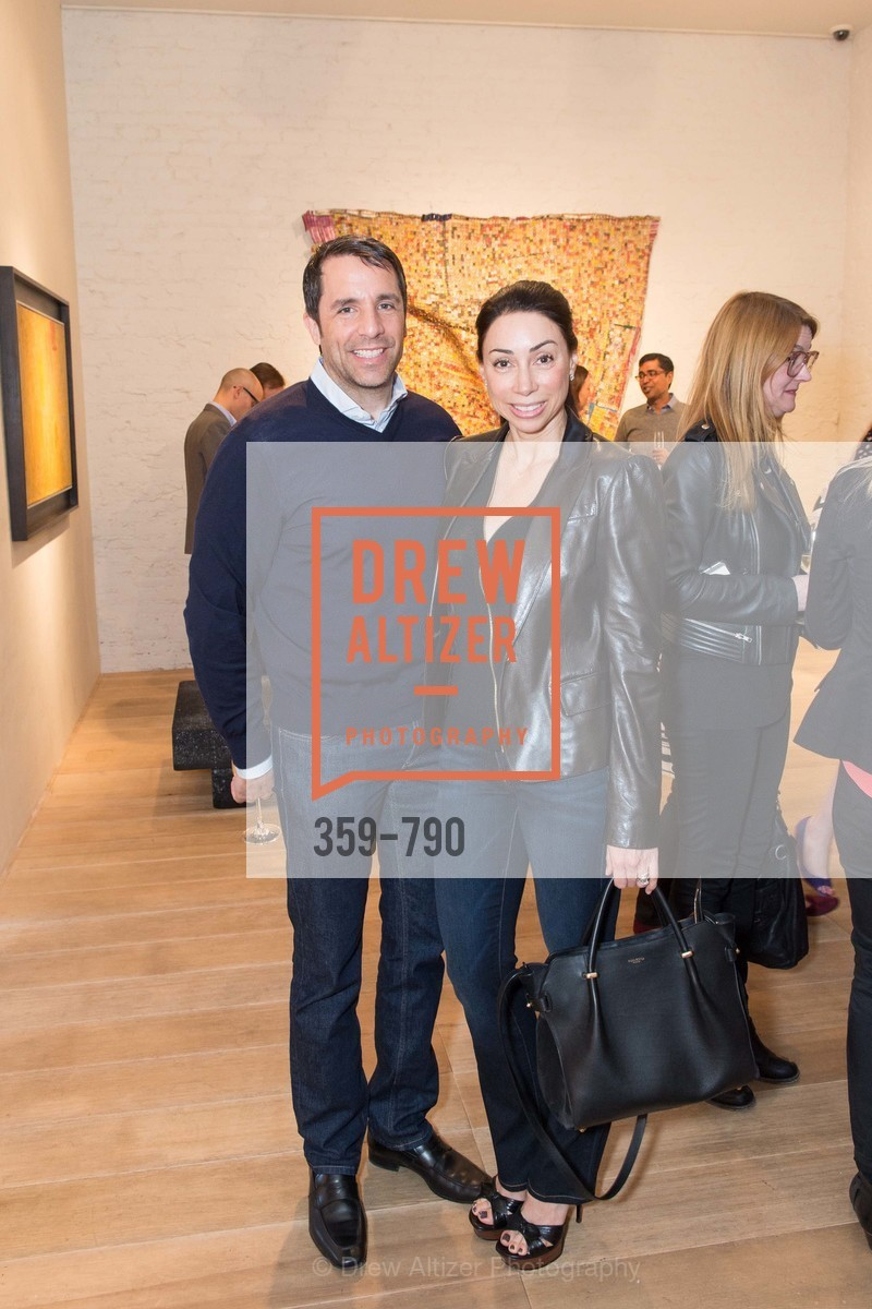 Stuart Peterson, Gina Peterson, Post War and Contemporary Preview at HEDGE GALLERY, US, April 16th, 2015,Drew Altizer, Drew Altizer Photography, full-service agency, private events, San Francisco photographer, photographer california