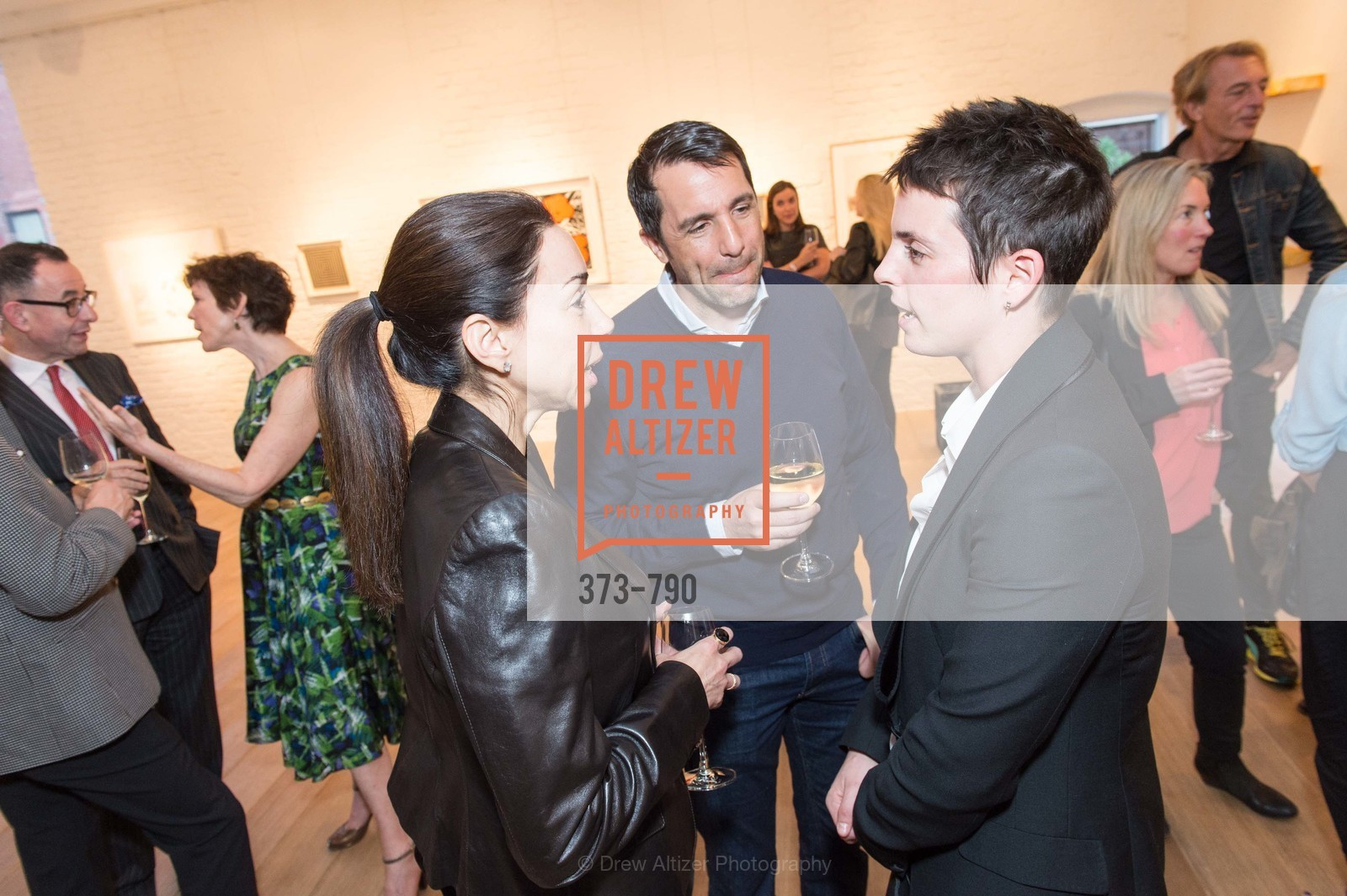 Gina Peterson, Stuart Peterson, Jessica Silverman, Post War and Contemporary Preview at HEDGE GALLERY, US, April 16th, 2015,Drew Altizer, Drew Altizer Photography, full-service agency, private events, San Francisco photographer, photographer california