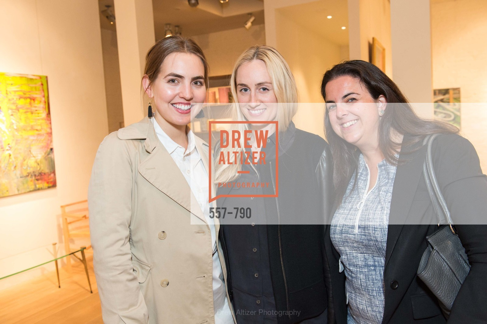 Megan Wesler, Sydney Lalonde, Alexandra Hoch, Post War and Contemporary Preview at HEDGE GALLERY, US, April 16th, 2015,Drew Altizer, Drew Altizer Photography, full-service agency, private events, San Francisco photographer, photographer california
