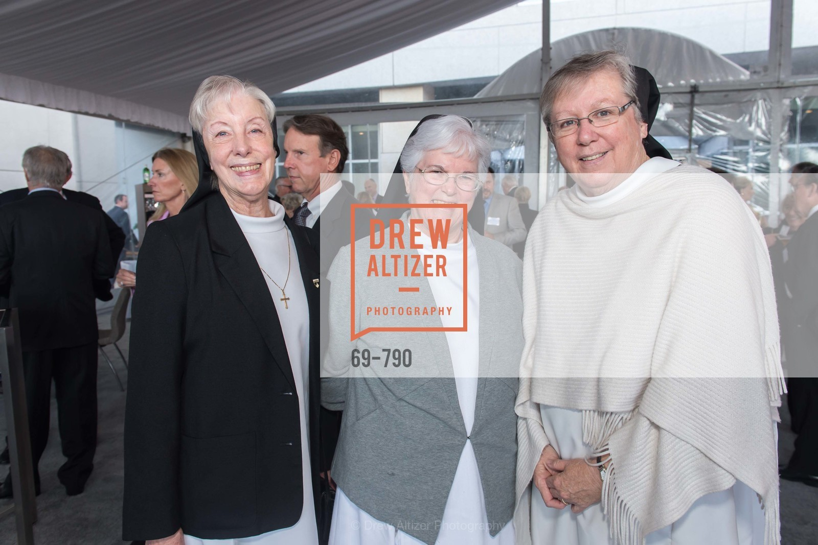 Sister Karen Elizabeth, Sister Diane, Sister Carolyn Elizabeth, Post War and Contemporary Preview at HEDGE GALLERY, US, April 16th, 2015,Drew Altizer, Drew Altizer Photography, full-service agency, private events, San Francisco photographer, photographer california