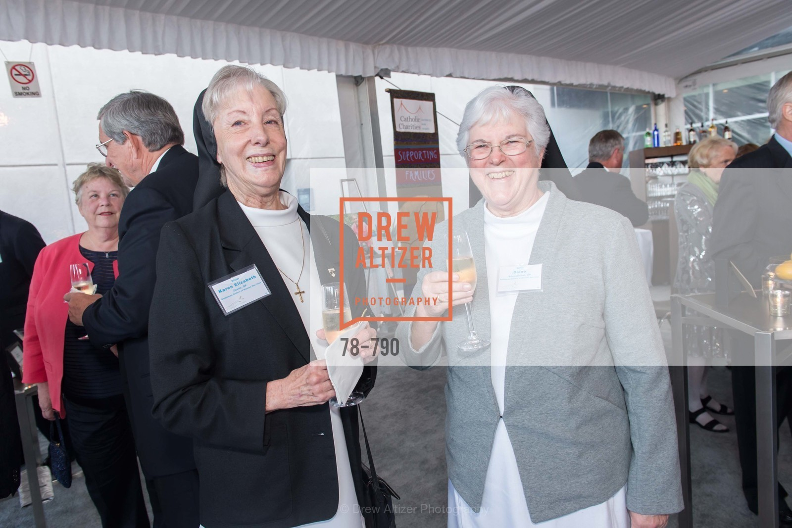 Sister Karen Elizabeth, Sister Diane, Post War and Contemporary Preview at HEDGE GALLERY, US, April 15th, 2015,Drew Altizer, Drew Altizer Photography, full-service agency, private events, San Francisco photographer, photographer california