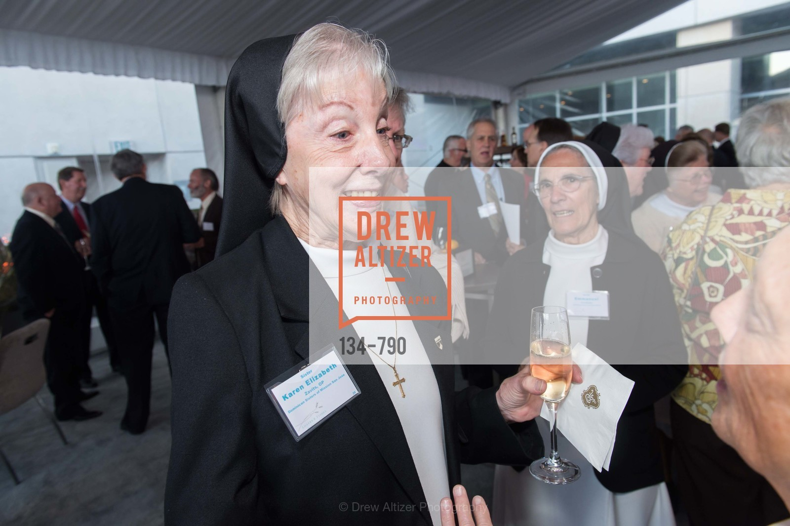 Sister Karen Elizabeth, Post War and Contemporary Preview at HEDGE GALLERY, US, April 16th, 2015,Drew Altizer, Drew Altizer Photography, full-service agency, private events, San Francisco photographer, photographer california