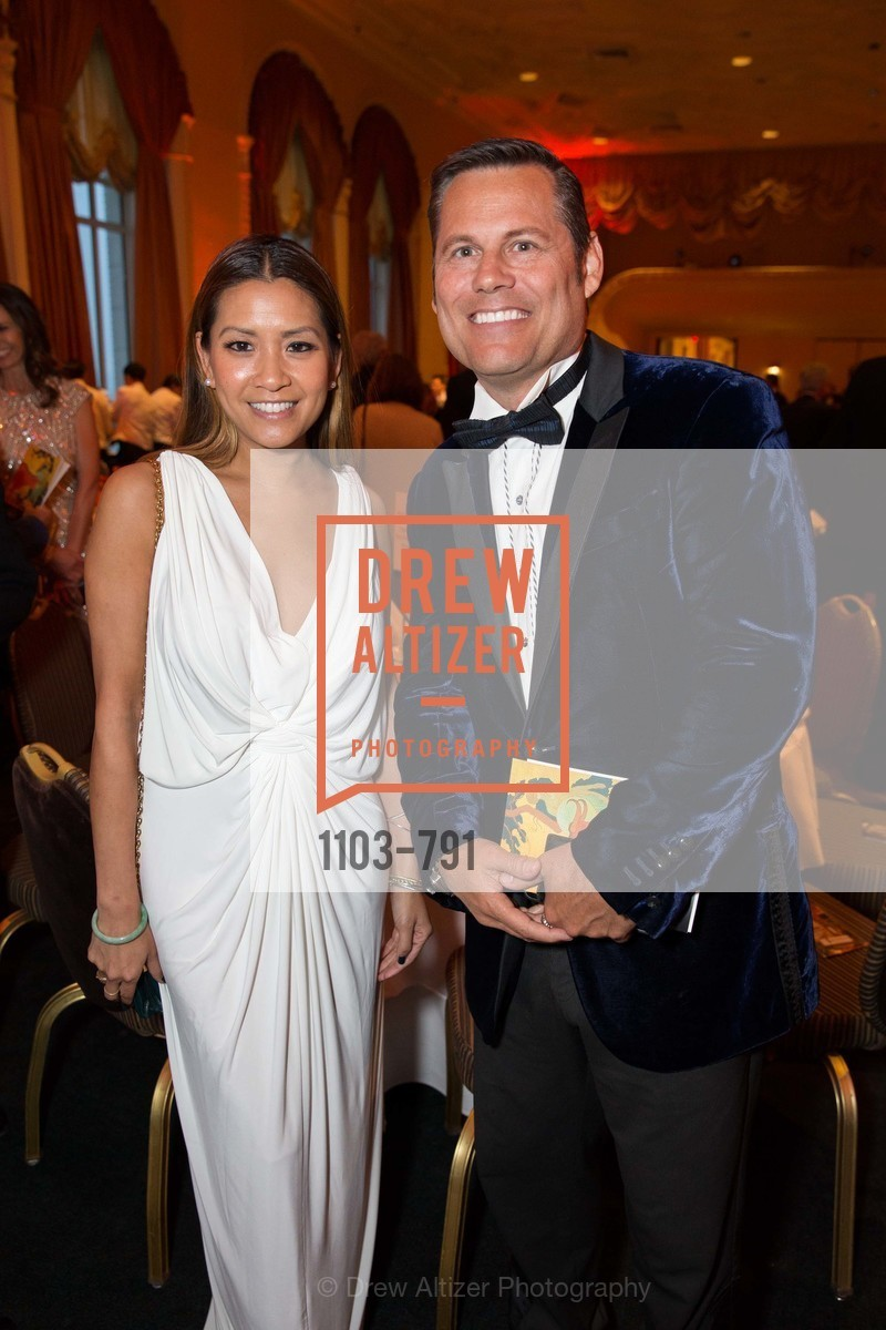 Lillian Phan, Mark Calvano, SAN FRANCISCO HERITAGE Soiree 2015, US, April 19th, 2015,Drew Altizer, Drew Altizer Photography, full-service agency, private events, San Francisco photographer, photographer california
