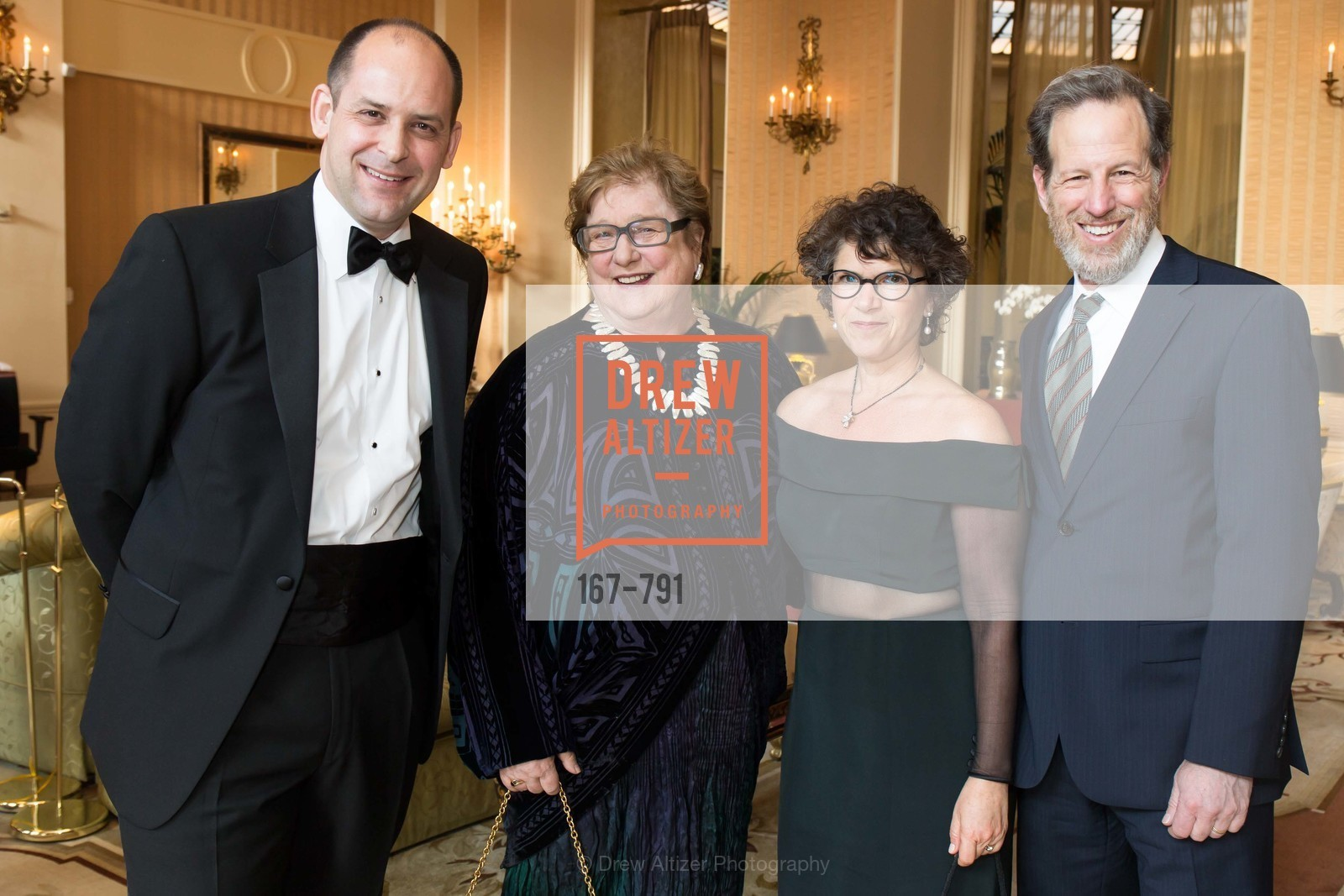 Mike Buhler, Linda Jo Fitz, Rebecca Schnier, Philip Witte, SAN FRANCISCO HERITAGE Soiree 2015, US, April 19th, 2015
