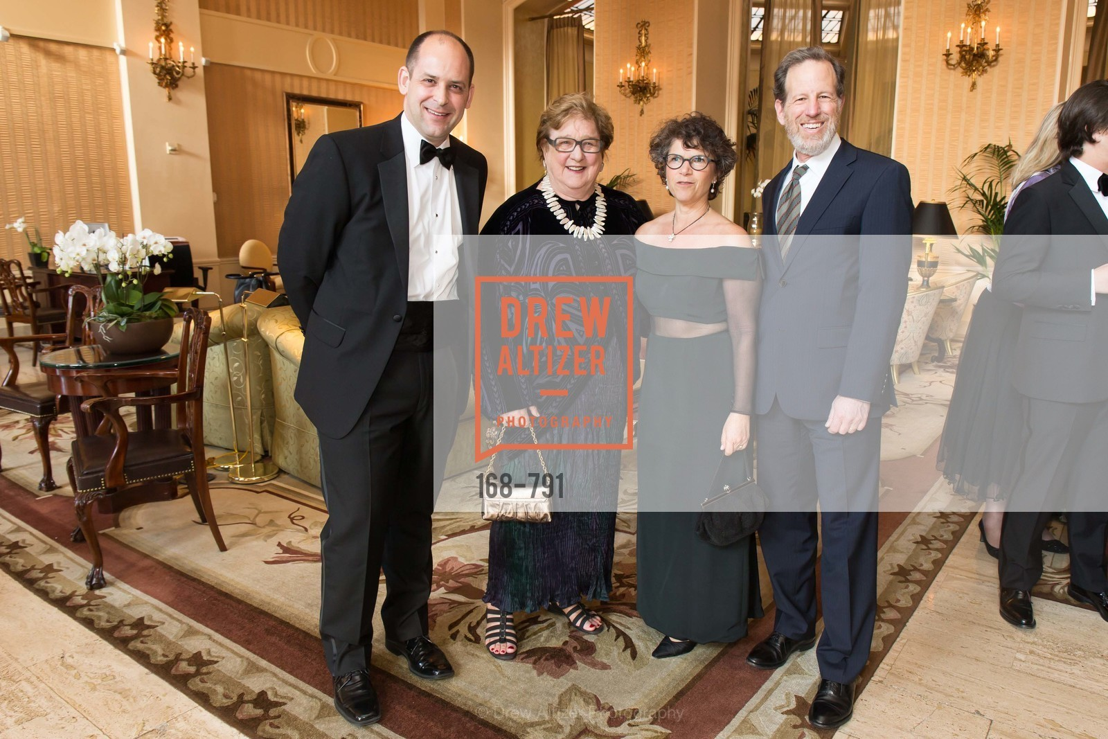 Mike Buhler, Linda Jo Fitz, Rebecca Schnier, Philip Witte, SAN FRANCISCO HERITAGE Soiree 2015, US, April 18th, 2015,Drew Altizer, Drew Altizer Photography, full-service agency, private events, San Francisco photographer, photographer california