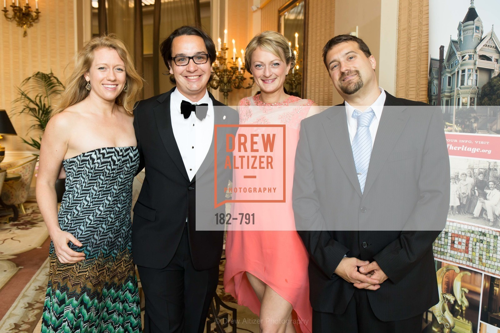 Kristina Nugent, Christopher Wiseman, Holly Goodin, John Adams, SAN FRANCISCO HERITAGE Soiree 2015, US, April 18th, 2015,Drew Altizer, Drew Altizer Photography, full-service agency, private events, San Francisco photographer, photographer california