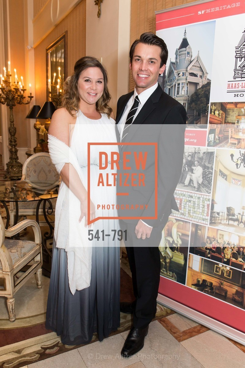 Kristen O'Brien, Michael O'Brien, SAN FRANCISCO HERITAGE Soiree 2015, US, April 18th, 2015,Drew Altizer, Drew Altizer Photography, full-service agency, private events, San Francisco photographer, photographer california