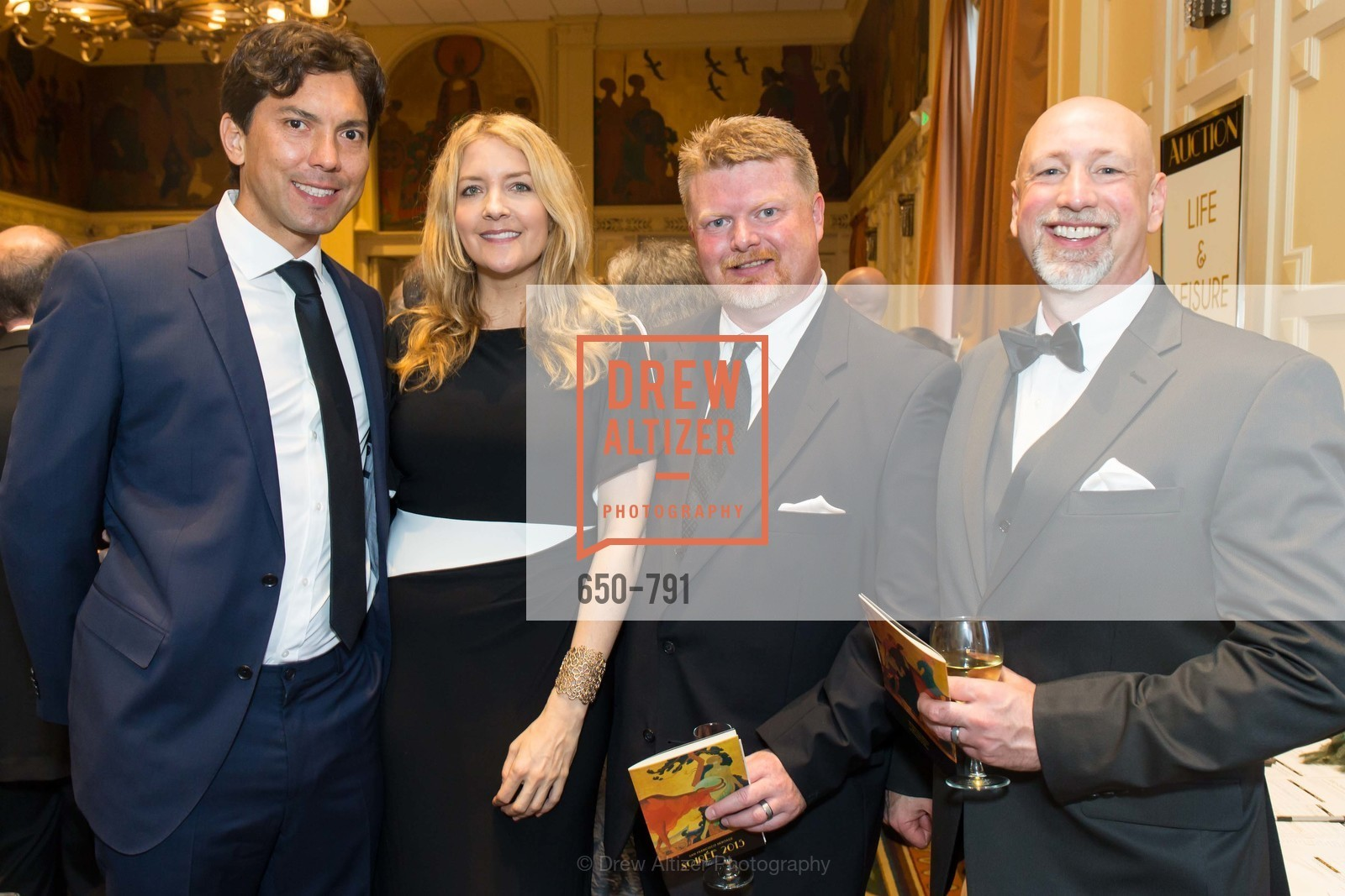 Terry Kelley, Jill Helffenstein, Jesse Cowdrey, James Landman, SAN FRANCISCO HERITAGE Soiree 2015, US, April 19th, 2015,Drew Altizer, Drew Altizer Photography, full-service agency, private events, San Francisco photographer, photographer california
