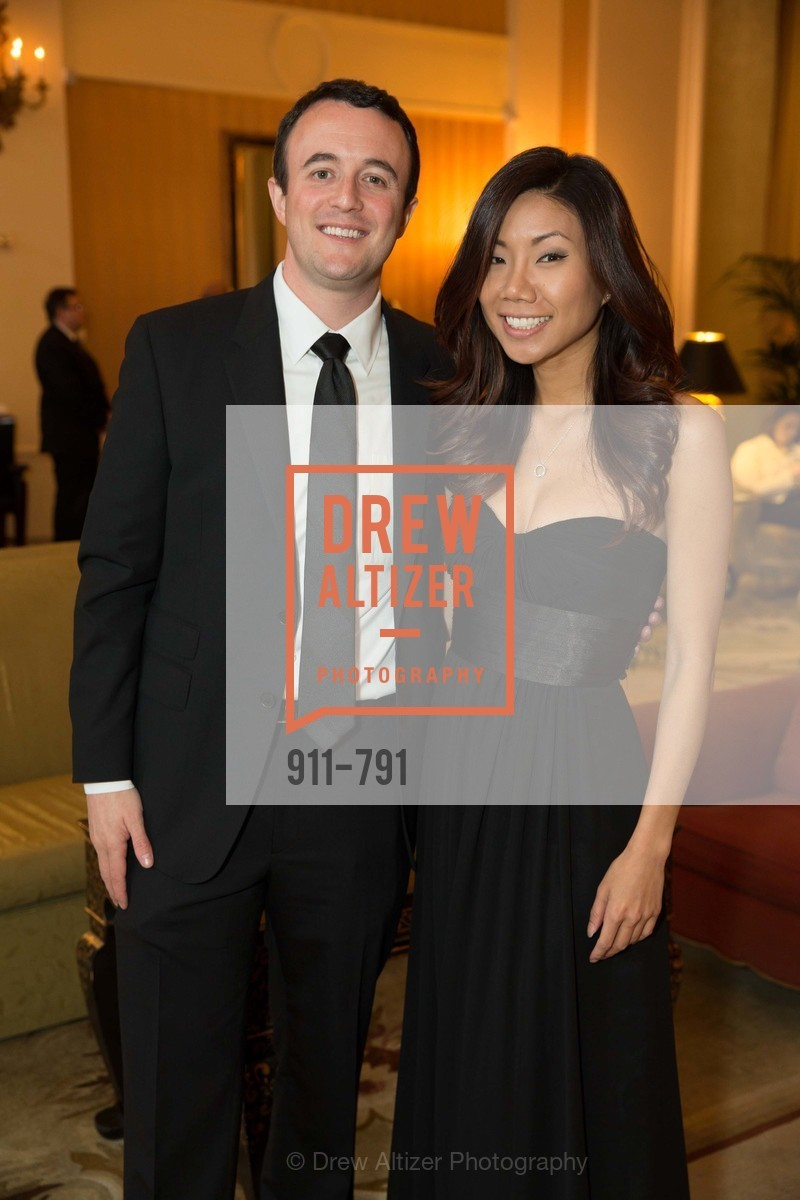 Andrew Spradling, Eunice Yoon, SAN FRANCISCO HERITAGE Soiree 2015, US, April 19th, 2015