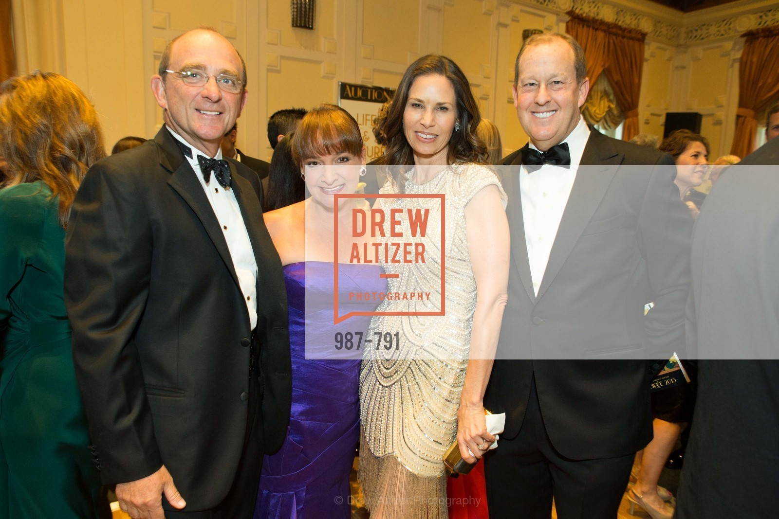 Tom Klein, Barbara Klein, Patty Rosenfeld, Michael Rosenfeld, SAN FRANCISCO HERITAGE Soiree 2015, US, April 19th, 2015,Drew Altizer, Drew Altizer Photography, full-service agency, private events, San Francisco photographer, photographer california