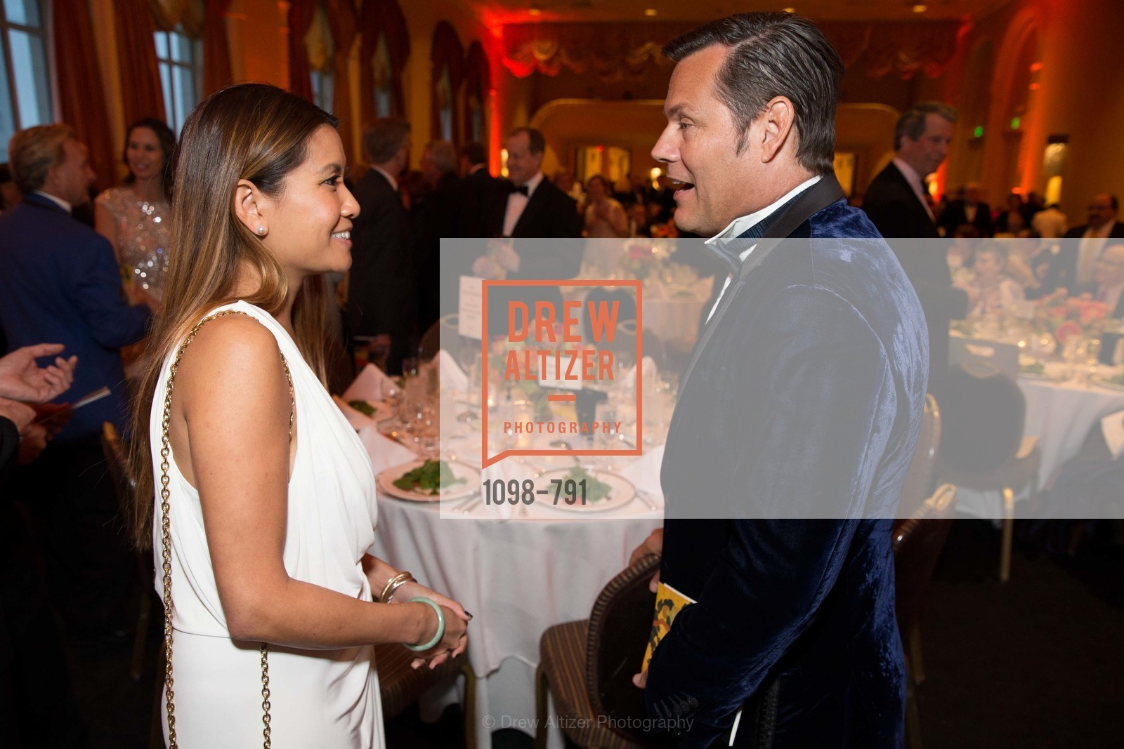 Lillian Phan, Mark Calvano, SAN FRANCISCO HERITAGE Soiree 2015, US, April 18th, 2015,Drew Altizer, Drew Altizer Photography, full-service agency, private events, San Francisco photographer, photographer california