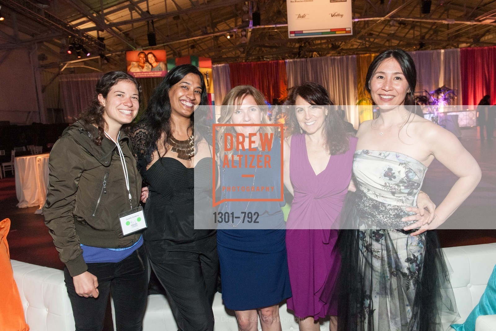 Danielle Goldberg, Neetha Iyer, Jan Busch, Deb Flazer, Vivien Thorp, MEALS ON WHEELS OF SAN FRANCISCO'S 28th Annual Star Chefs and Vintners Gala, US, April 20th, 2015,Drew Altizer, Drew Altizer Photography, full-service agency, private events, San Francisco photographer, photographer california