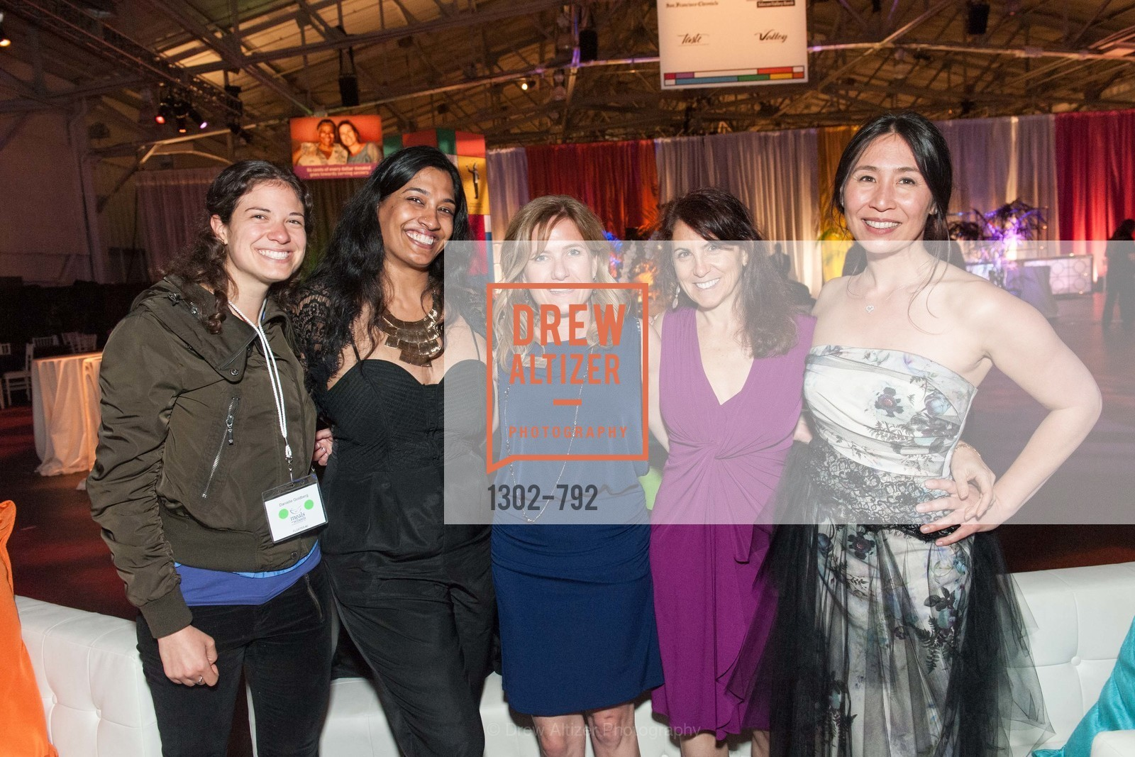 Danielle Goldberg, Neetha Iyer, Jan Busch, Deb Flazer, Vivien Thorp, MEALS ON WHEELS OF SAN FRANCISCO'S 28th Annual Star Chefs and Vintners Gala, US, April 19th, 2015,Drew Altizer, Drew Altizer Photography, full-service agency, private events, San Francisco photographer, photographer california