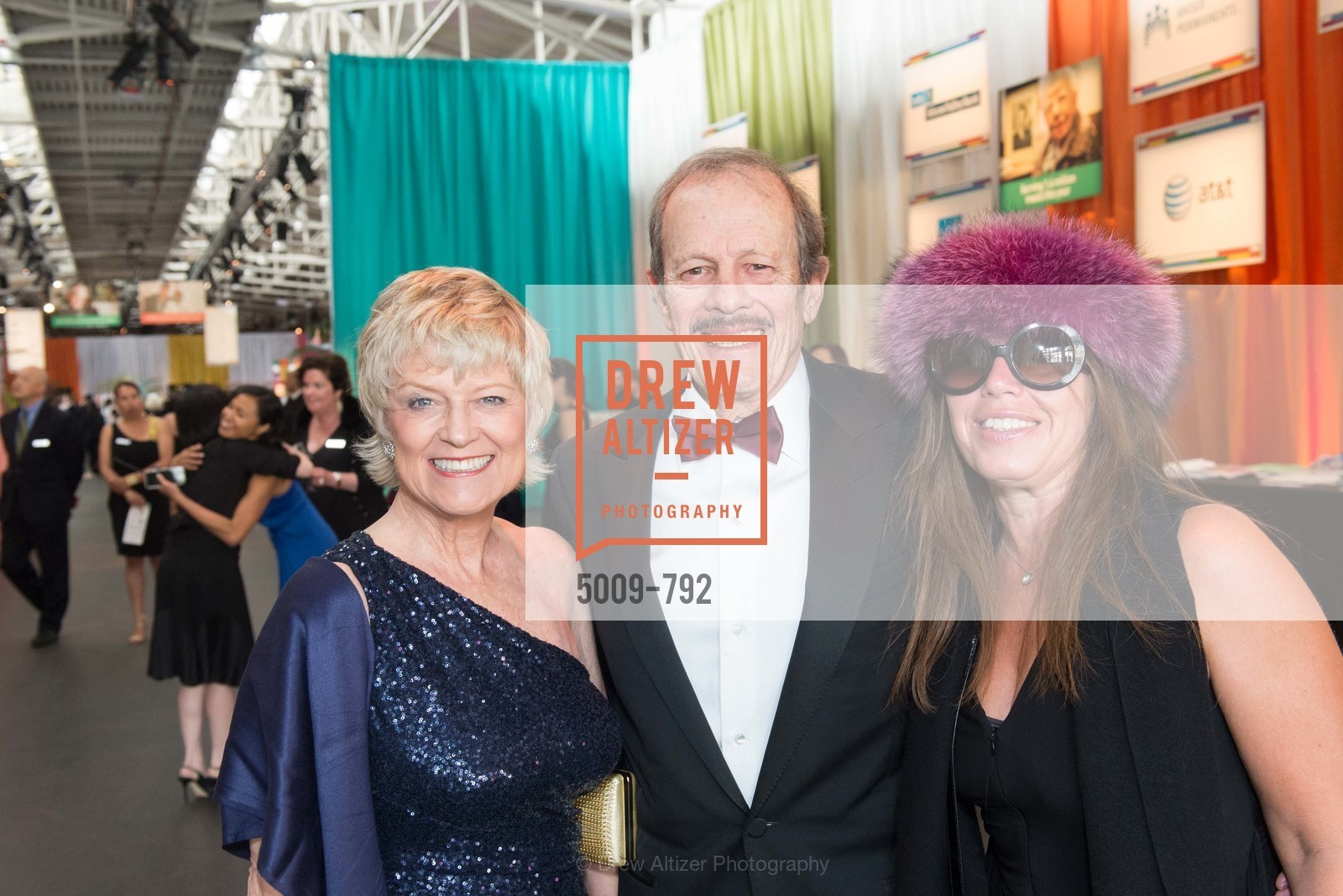Linda Holbrooke, Jack Dusay, Gina Locurcio, MEALS ON WHEELS OF SAN FRANCISCO'S 28th Annual Star Chefs and Vintners Gala, US, April 20th, 2015,Drew Altizer, Drew Altizer Photography, full-service agency, private events, San Francisco photographer, photographer california