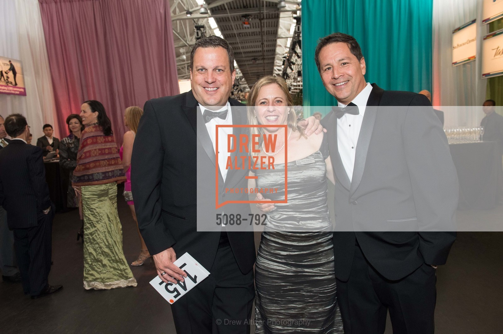 Jeff Peargin, Ann Quaintance, Hector Benavides, MEALS ON WHEELS OF SAN FRANCISCO'S 28th Annual Star Chefs and Vintners Gala, US, April 19th, 2015,Drew Altizer, Drew Altizer Photography, full-service agency, private events, San Francisco photographer, photographer california