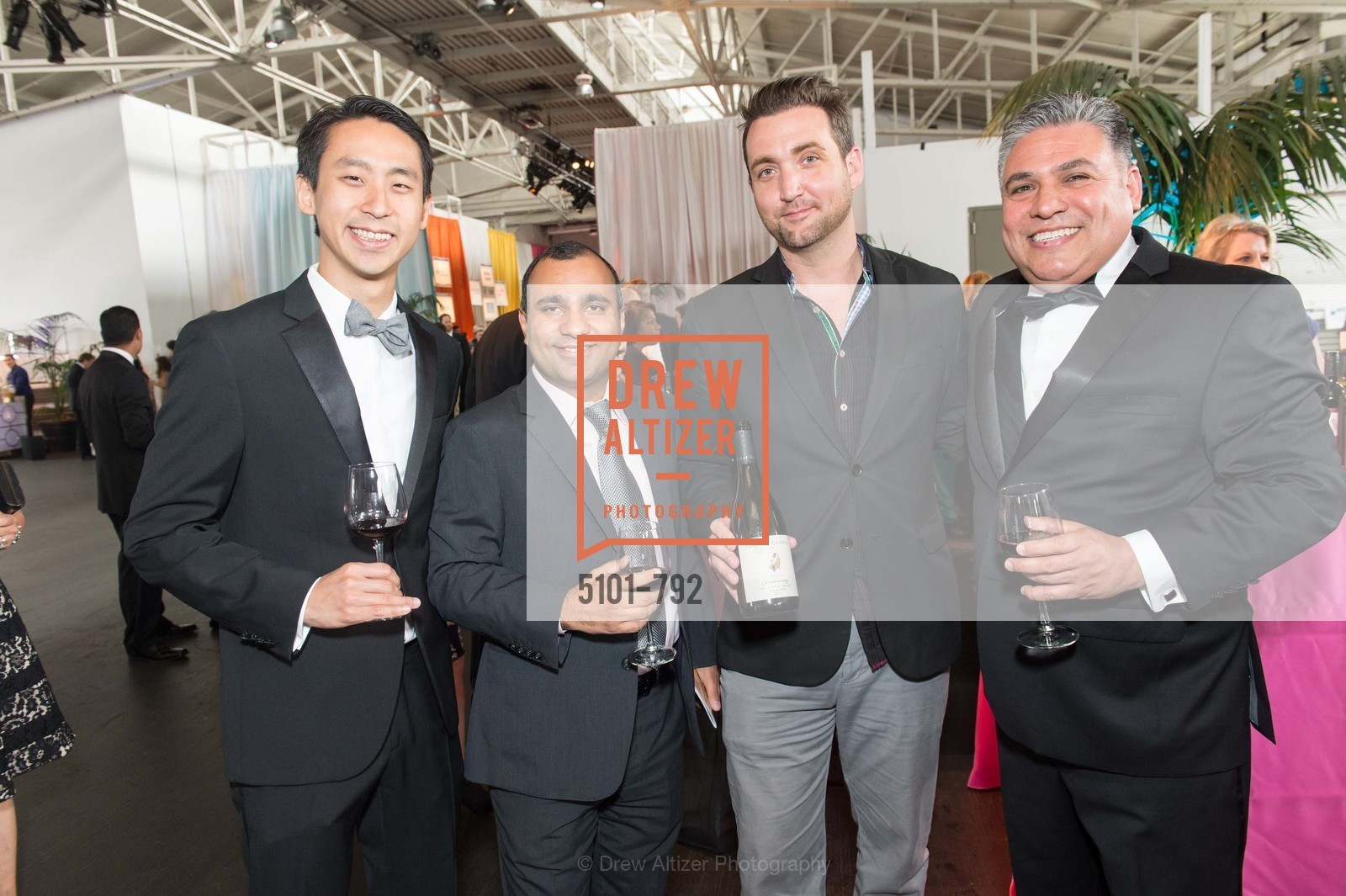 Jeff Lu, Nakul Mandan, Sean Tevik, John China, MEALS ON WHEELS OF SAN FRANCISCO'S 28th Annual Star Chefs and Vintners Gala, US, April 20th, 2015,Drew Altizer, Drew Altizer Photography, full-service agency, private events, San Francisco photographer, photographer california