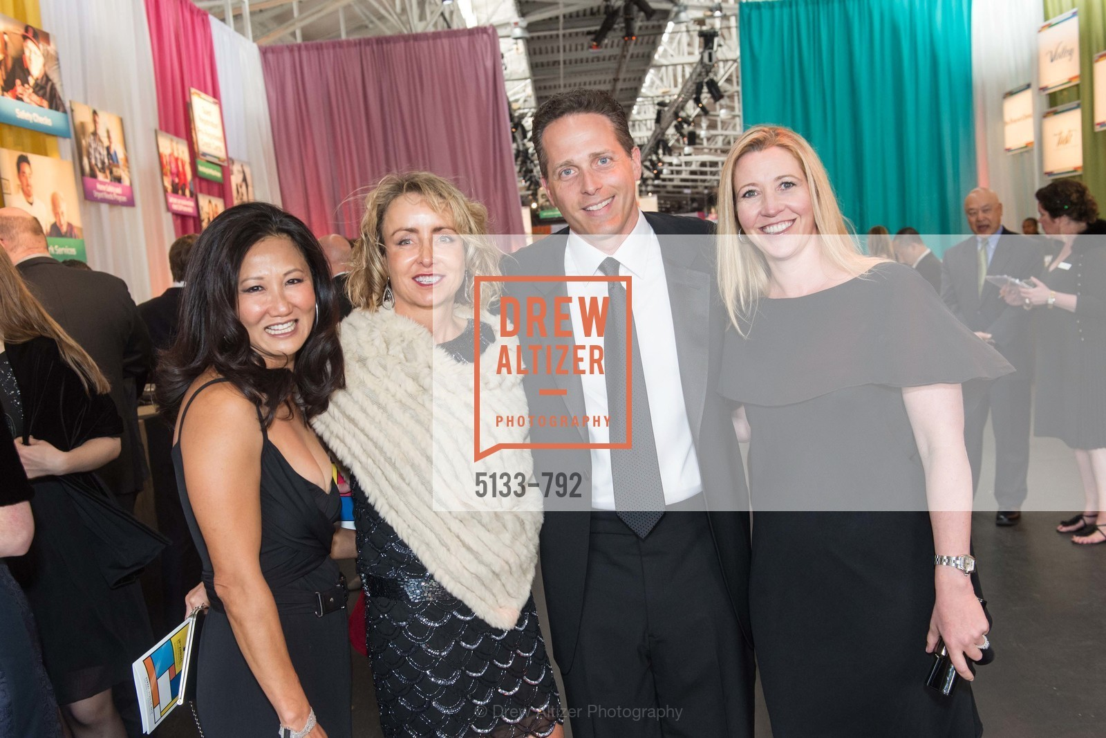 Margot Young, Jennifer Sanders, David Lewis, Jenna Lewis, MEALS ON WHEELS OF SAN FRANCISCO'S 28th Annual Star Chefs and Vintners Gala, US, April 20th, 2015,Drew Altizer, Drew Altizer Photography, full-service agency, private events, San Francisco photographer, photographer california