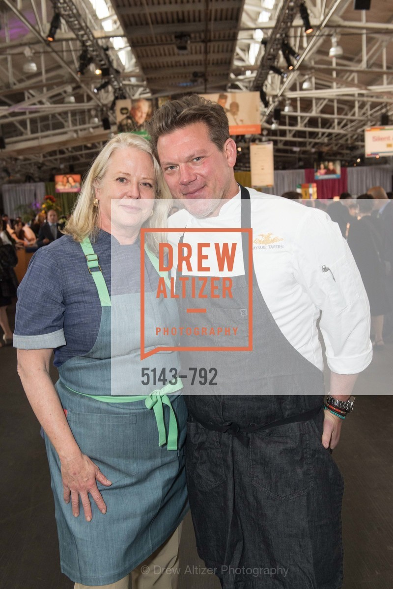 Nancy Oakes, Tyler Florence, MEALS ON WHEELS OF SAN FRANCISCO'S 28th Annual Star Chefs and Vintners Gala, US, April 20th, 2015,Drew Altizer, Drew Altizer Photography, full-service event agency, private events, San Francisco photographer, photographer California