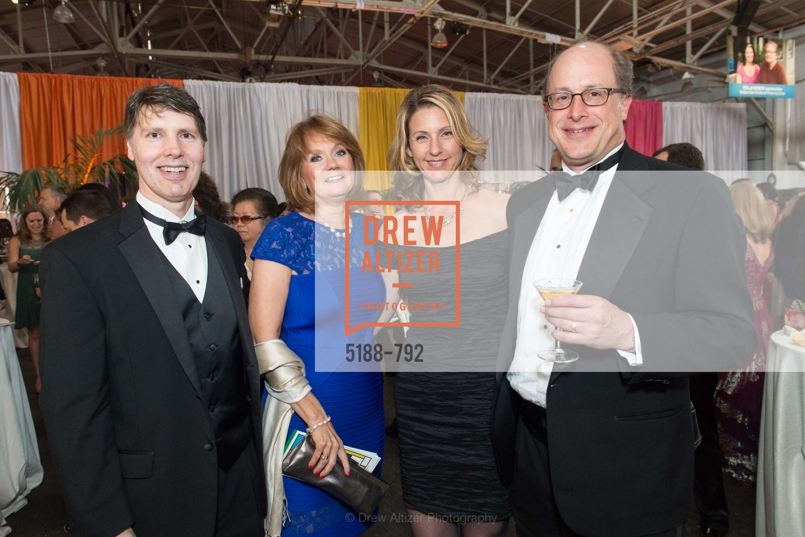 Tony Sladek, Rhonda Johnson, Jennifer Miller, David Miller, MEALS ON WHEELS OF SAN FRANCISCO'S 28th Annual Star Chefs and Vintners Gala, US, April 20th, 2015,Drew Altizer, Drew Altizer Photography, full-service agency, private events, San Francisco photographer, photographer california