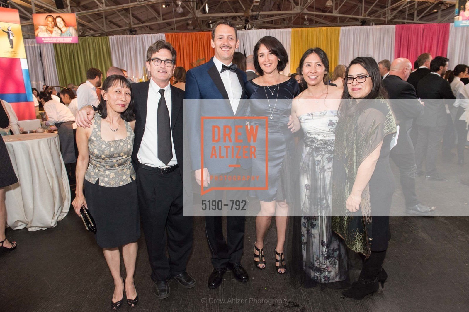 Karen Cew, Ted Bervalen, David Tews, Michelle Ortega, Vivien Thorp, Siciliana Trevino, MEALS ON WHEELS OF SAN FRANCISCO'S 28th Annual Star Chefs and Vintners Gala, US, April 20th, 2015,Drew Altizer, Drew Altizer Photography, full-service agency, private events, San Francisco photographer, photographer california
