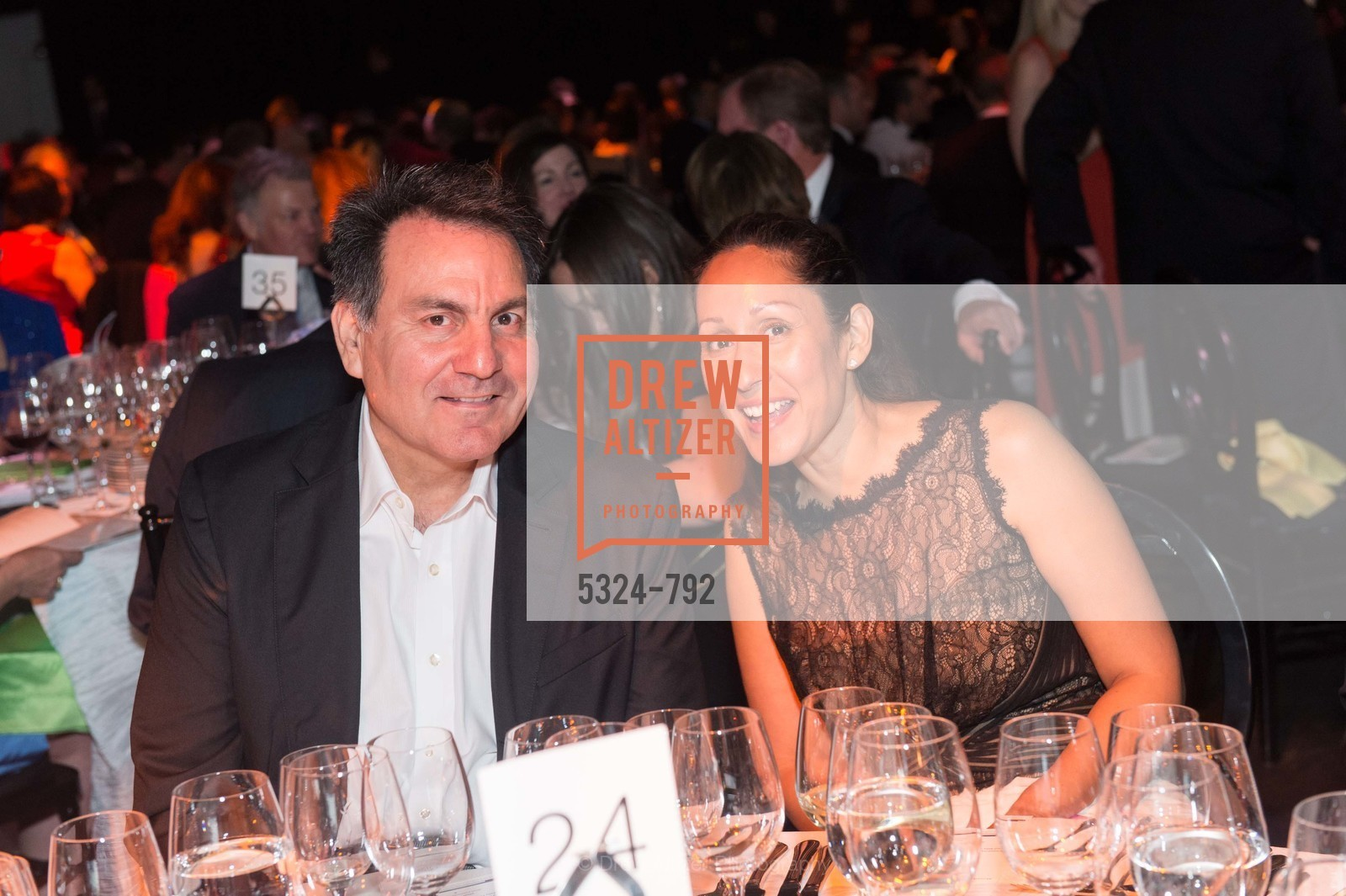 Tony Lopez, Aliya Bokhari, MEALS ON WHEELS OF SAN FRANCISCO'S 28th Annual Star Chefs and Vintners Gala, US, April 19th, 2015,Drew Altizer, Drew Altizer Photography, full-service agency, private events, San Francisco photographer, photographer california