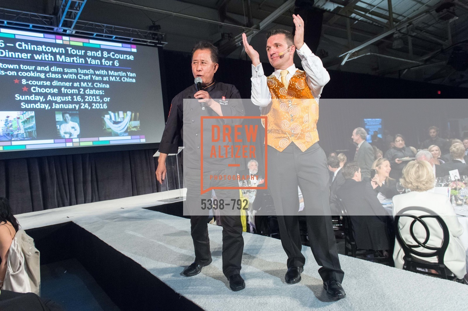 Michael Yan, Greg Quiroga, MEALS ON WHEELS OF SAN FRANCISCO'S 28th Annual Star Chefs and Vintners Gala, US, April 20th, 2015