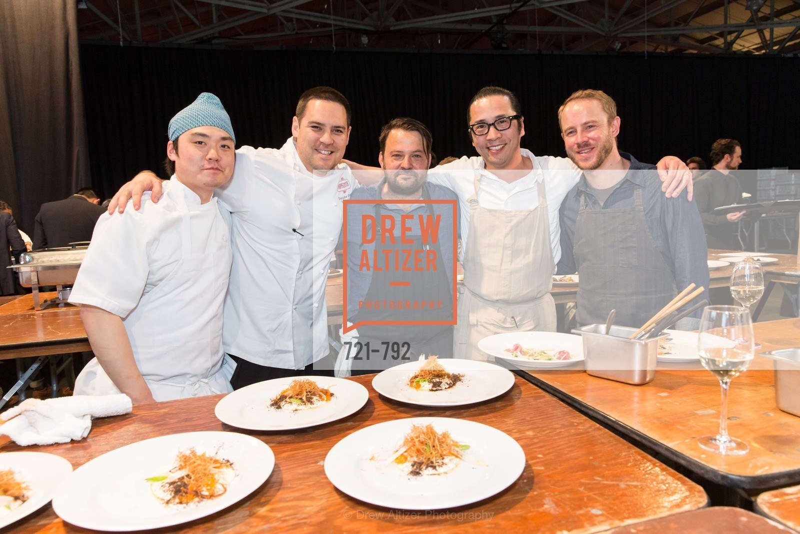 Kyle Itani, John Becker, Sho Kamio, Stewart Brioza, MEALS ON WHEELS OF SAN FRANCISCO'S 28th Annual Star Chefs and Vintners Gala, US, April 20th, 2015,Drew Altizer, Drew Altizer Photography, full-service agency, private events, San Francisco photographer, photographer california