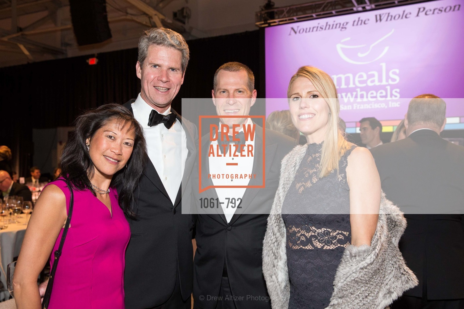 Debbie Jorgensen, Blake Jorgensen, Grant Cleghorn, Sondra Cleghorn, MEALS ON WHEELS OF SAN FRANCISCO'S 28th Annual Star Chefs and Vintners Gala, US, April 20th, 2015,Drew Altizer, Drew Altizer Photography, full-service agency, private events, San Francisco photographer, photographer california