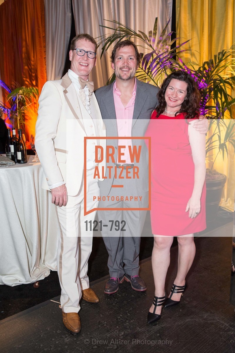 Brian Walsh, Andy Peay, Molly Walsh, MEALS ON WHEELS OF SAN FRANCISCO'S 28th Annual Star Chefs and Vintners Gala, US, April 20th, 2015