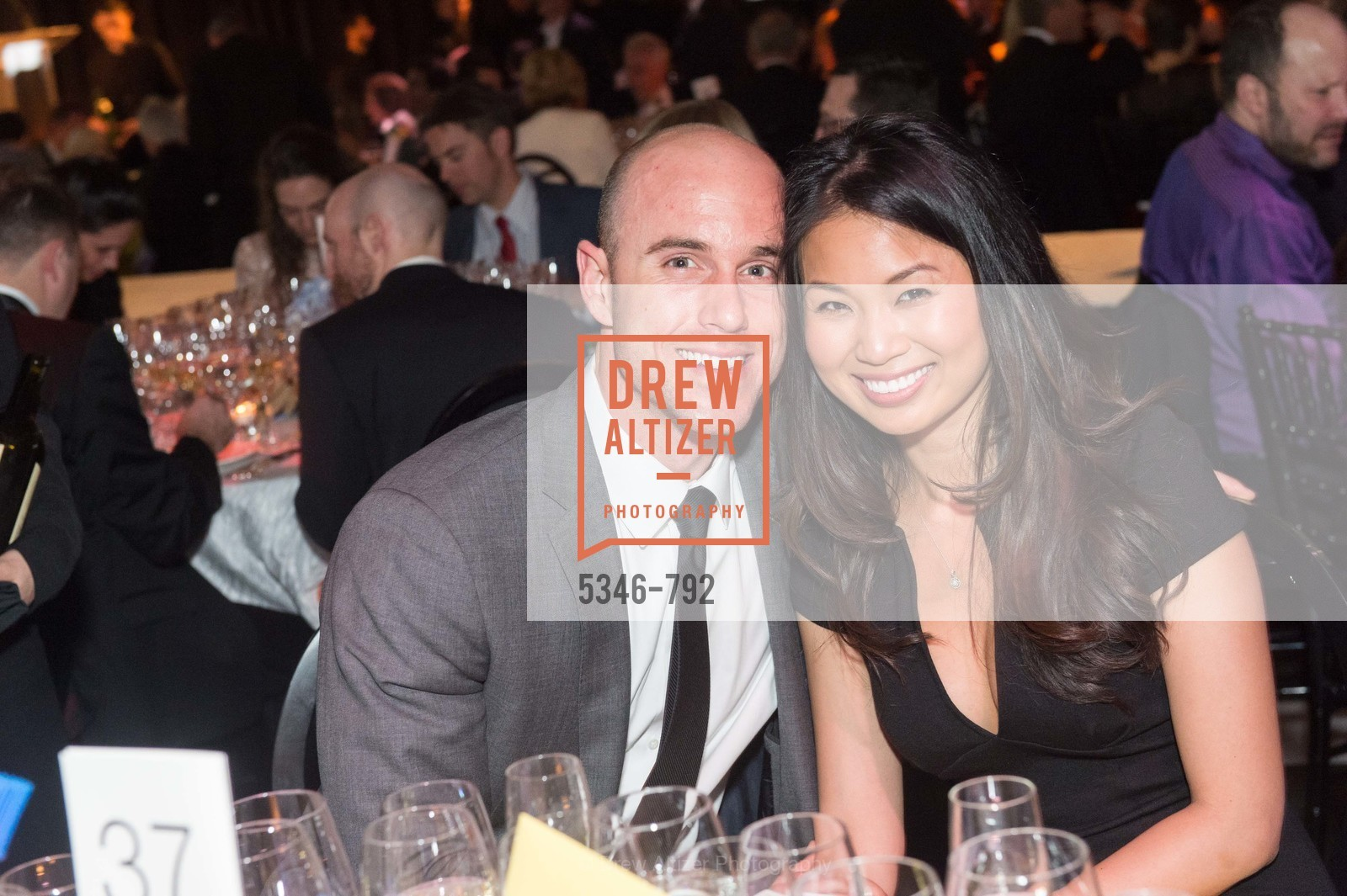 Jeffrey Stevenson, Lisa Chan, MEALS ON WHEELS OF SAN FRANCISCO'S 28th Annual Star Chefs and Vintners Gala, US, April 20th, 2015,Drew Altizer, Drew Altizer Photography, full-service agency, private events, San Francisco photographer, photographer california
