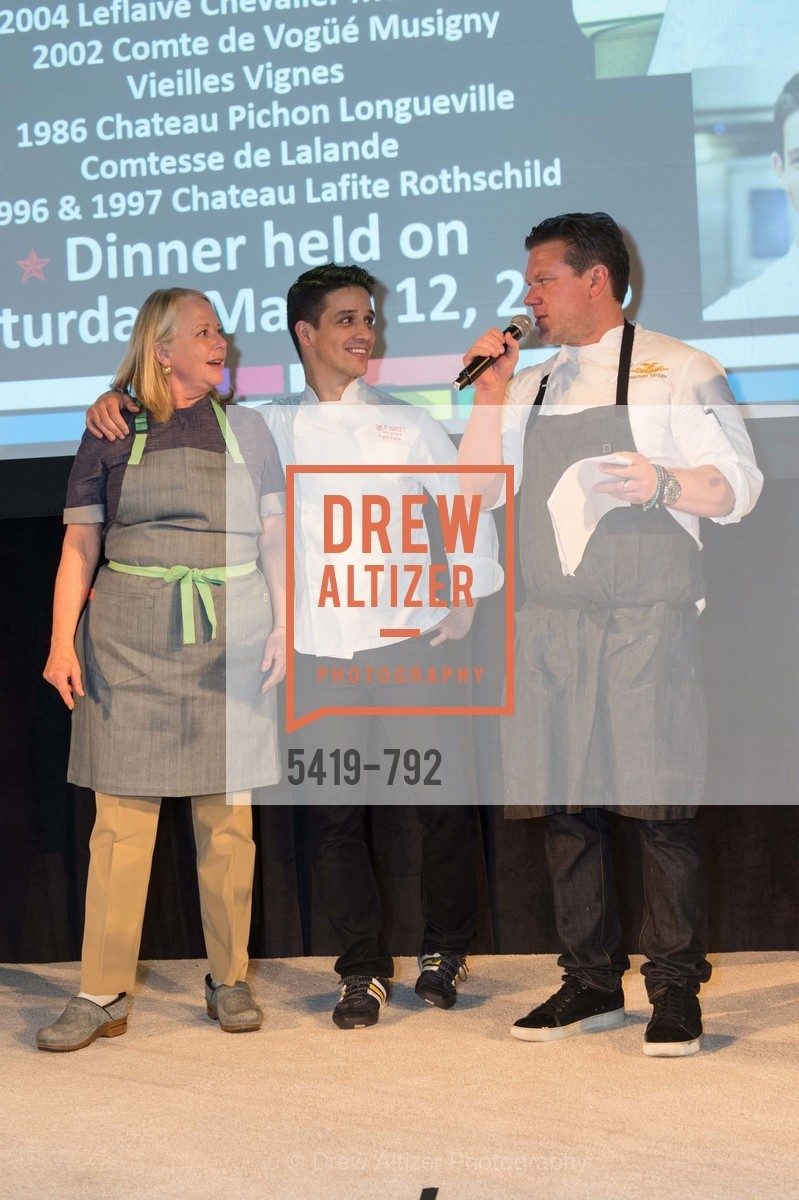 Nancy Oakes, Yigit Pura, Tyler Florence, MEALS ON WHEELS OF SAN FRANCISCO'S 28th Annual Star Chefs and Vintners Gala, US, April 19th, 2015,Drew Altizer, Drew Altizer Photography, full-service agency, private events, San Francisco photographer, photographer california