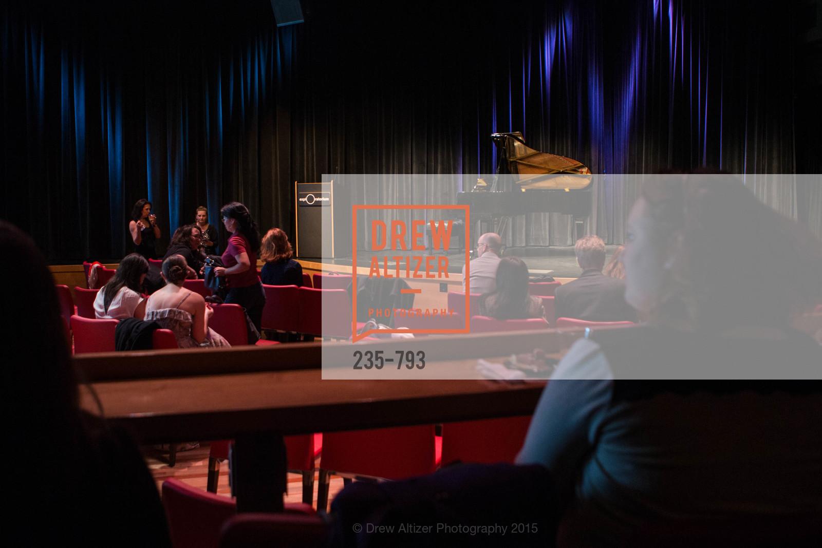 Atmosphere, SF BRAVO CLUB Sneak Peek at the EXPLORATORIUM, US, April 23rd, 2015,Drew Altizer, Drew Altizer Photography, full-service agency, private events, San Francisco photographer, photographer california