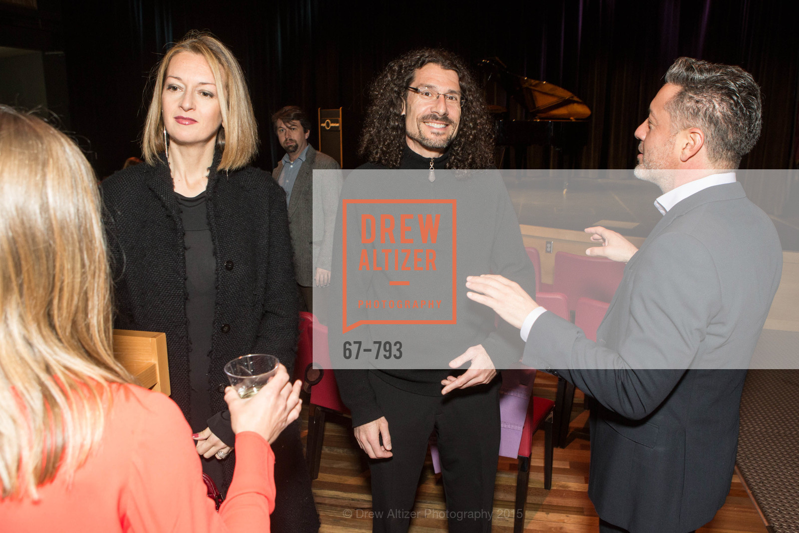 Ileana Facchini, Mitch Shapiro, Carlos Ramirez, SF BRAVO CLUB Sneak Peek at the EXPLORATORIUM, US, April 22nd, 2015,Drew Altizer, Drew Altizer Photography, full-service agency, private events, San Francisco photographer, photographer california