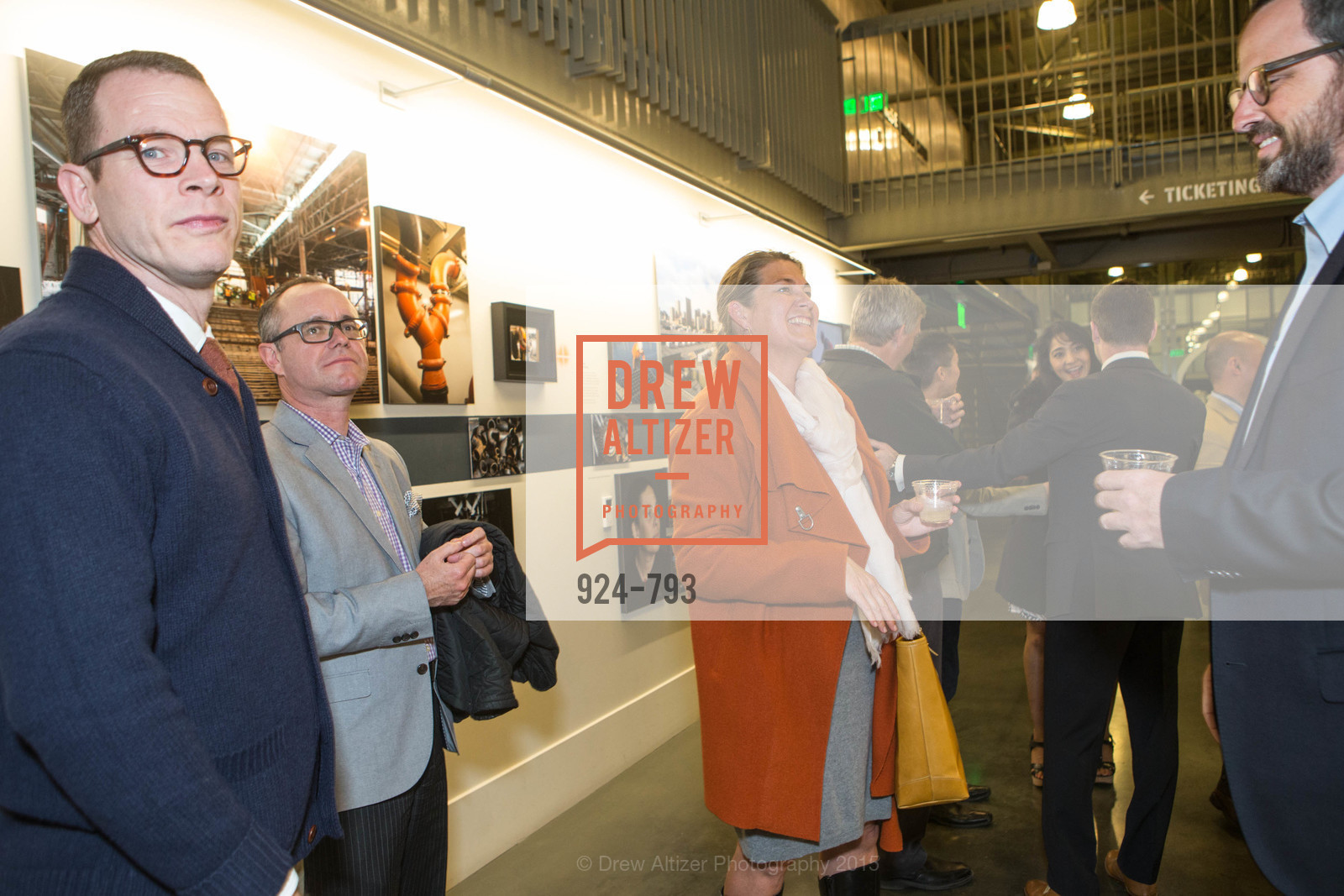 Benjamin Thompson, Grant Kalinowski, Tina Myers, Justin Bank, SF BRAVO CLUB Sneak Peek at the EXPLORATORIUM, US, April 23rd, 2015,Drew Altizer, Drew Altizer Photography, full-service agency, private events, San Francisco photographer, photographer california
