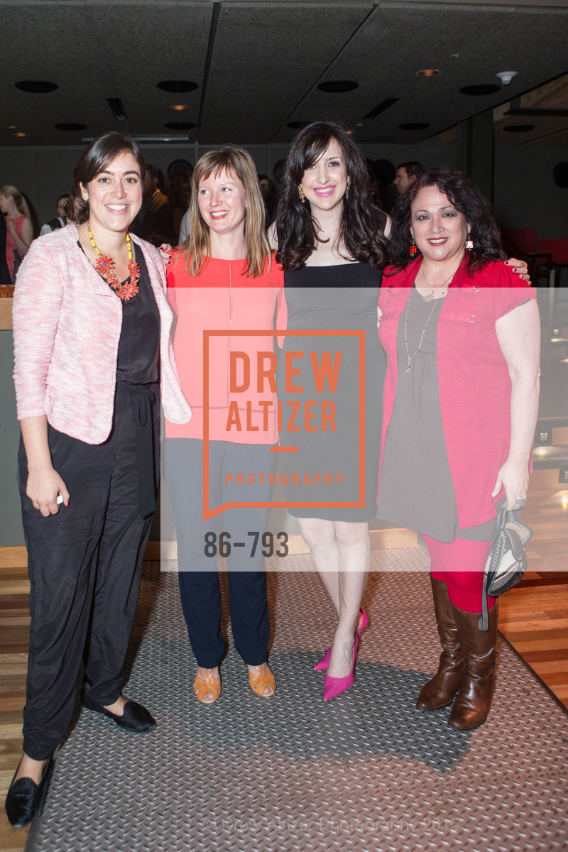Leah Baumbach, Genevieve Neumuth, Shannon Eliot, Miriam Mendoza Moody, SF BRAVO CLUB Sneak Peek at the EXPLORATORIUM, US, April 22nd, 2015,Drew Altizer, Drew Altizer Photography, full-service agency, private events, San Francisco photographer, photographer california
