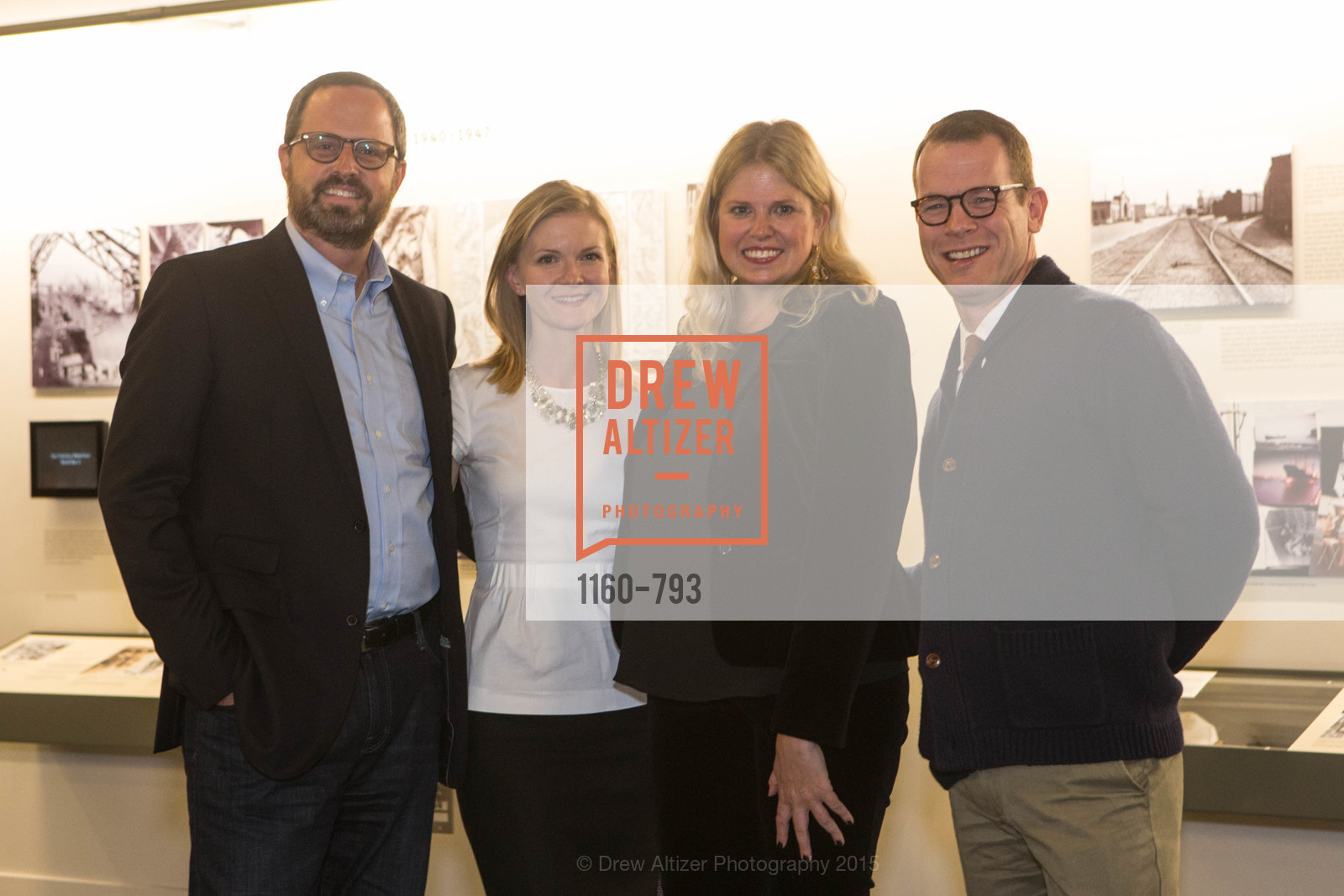 Justin Bank, Greer Goings, Julie Warbough, Benjamin Thompson, SF BRAVO CLUB Sneak Peek at the EXPLORATORIUM, US, April 23rd, 2015,Drew Altizer, Drew Altizer Photography, full-service agency, private events, San Francisco photographer, photographer california