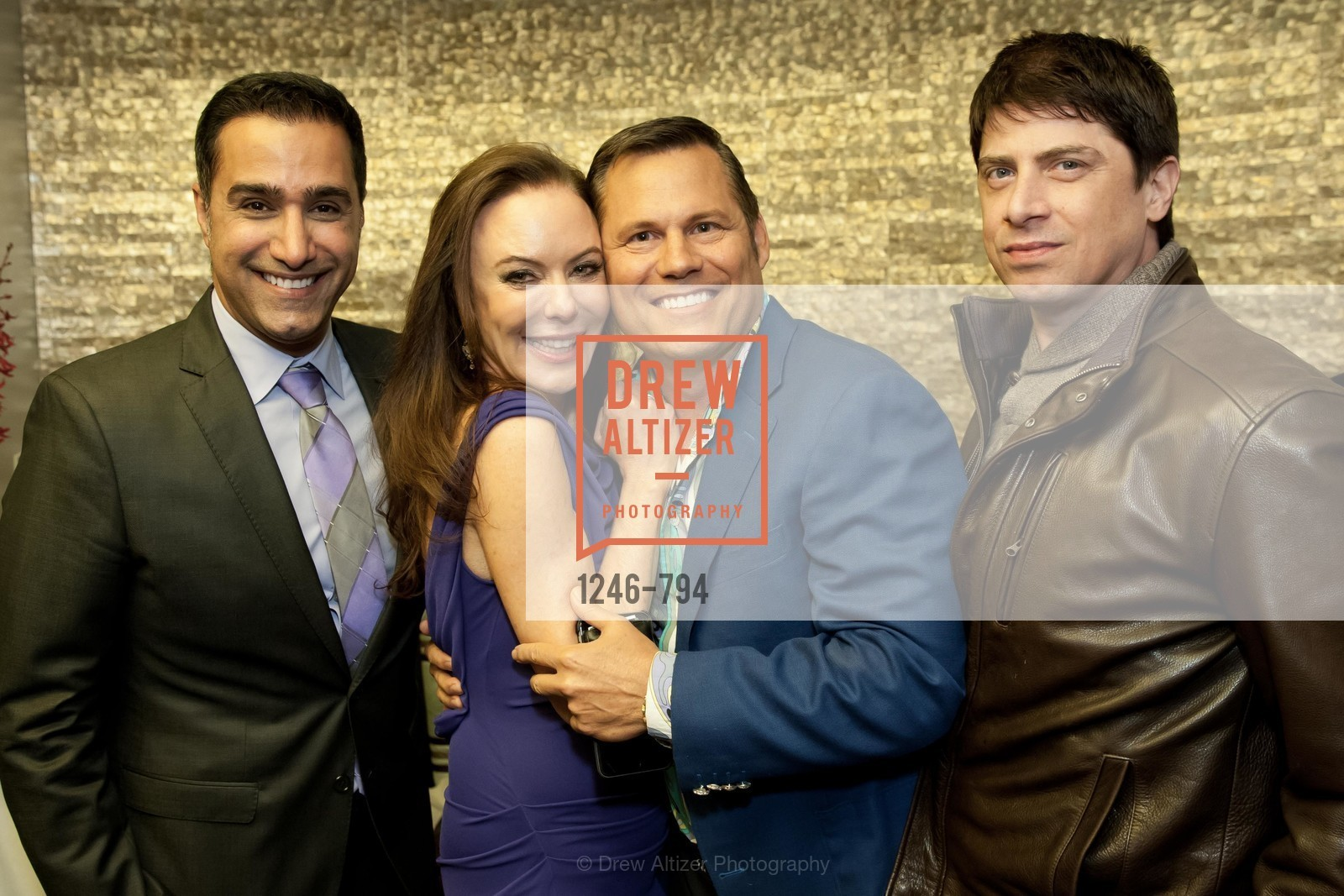 Johnny Moallempour, Margaret Mitchell, Mark Calvano, Aubrey Brewster, EPI CENTER MedSpa Anniversary and Launch of REPLETE - Evening Celebration, US, April 21st, 2015,Drew Altizer, Drew Altizer Photography, full-service agency, private events, San Francisco photographer, photographer california