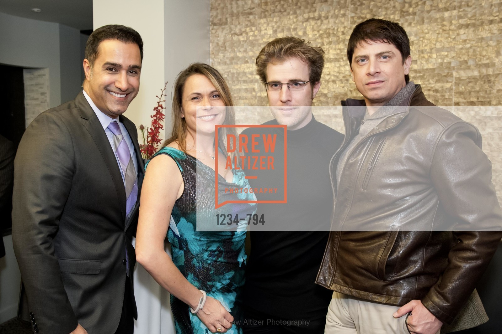 Johnny Moallempour, Teresa Rodriguez, Matthew Kimball, Aubrey Brewster, EPI CENTER MedSpa Anniversary and Launch of REPLETE - Evening Celebration, US, April 22nd, 2015,Drew Altizer, Drew Altizer Photography, full-service agency, private events, San Francisco photographer, photographer california