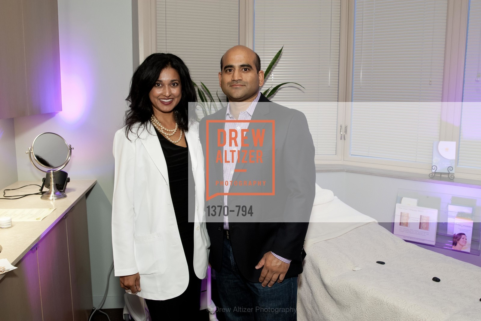 Shilpa Vichare, Anuj Gujar, EPI CENTER MedSpa Anniversary and Launch of REPLETE - Evening Celebration, US, April 22nd, 2015