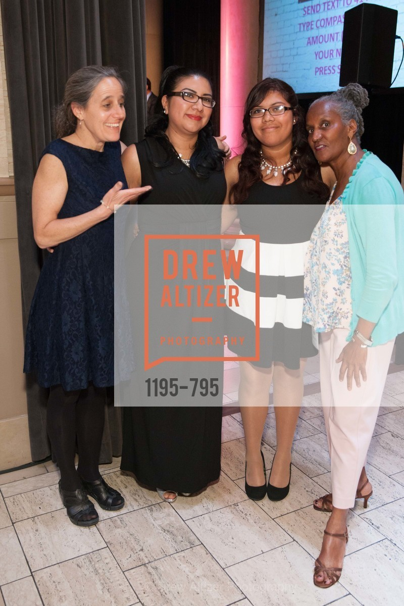 Jane Schisgal, Berta Morales, Alicia Rodriguez, Barbara Whitaker, COMPASS FAMILY SERVICES Annual Spring Benefit:  Every Family Needs A Home, US, April 23rd, 2015,Drew Altizer, Drew Altizer Photography, full-service agency, private events, San Francisco photographer, photographer california