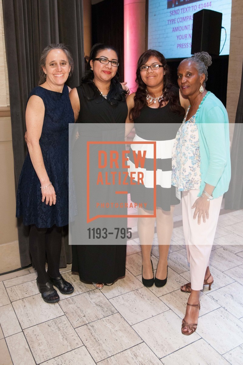 Jane Schisgal, Berta Morales, Alicia Rodriguez, Barbara Whitaker, COMPASS FAMILY SERVICES Annual Spring Benefit:  Every Family Needs A Home, US, April 22nd, 2015,Drew Altizer, Drew Altizer Photography, full-service agency, private events, San Francisco photographer, photographer california
