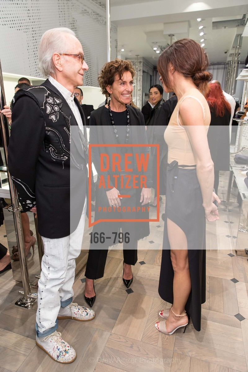 Norman Stone, Monica Voltolina, Sabrina Buell, MAISON MARGIELA San Francisco Boutique Grand Opening Event, US, April 24th, 2015