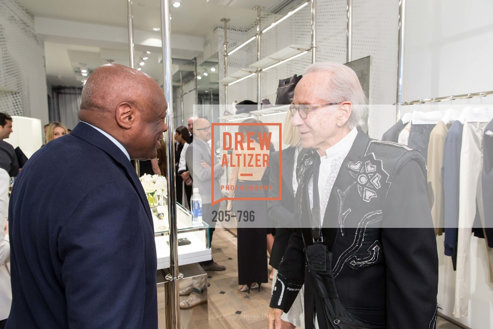 Willie Brown, Norman Stone, MAISON MARGIELA San Francisco Boutique Grand Opening Event, US, April 24th, 2015,Drew Altizer, Drew Altizer Photography, full-service agency, private events, San Francisco photographer, photographer california