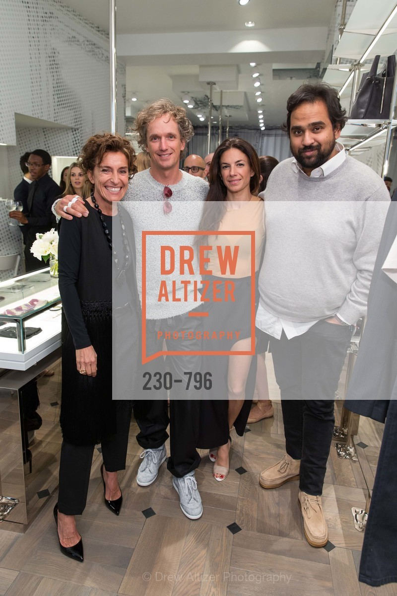 Monica Voltolina, Yves Behar, Sabrina Buell, Hosain Rahman, MAISON MARGIELA San Francisco Boutique Grand Opening Event, US, April 24th, 2015,Drew Altizer, Drew Altizer Photography, full-service event agency, private events, San Francisco photographer, photographer California