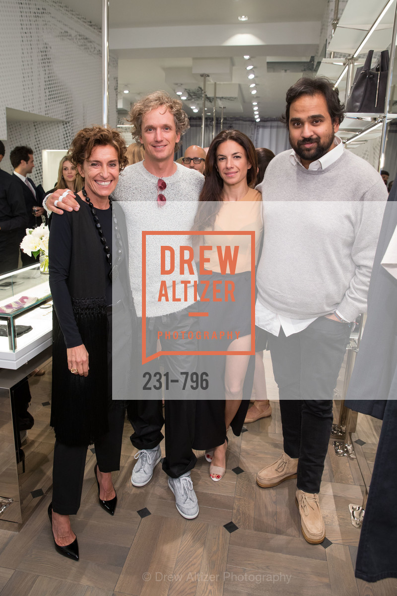 Monica Voltolina, Yves Behar, Sabrina Buell, Hosain Rahman, MAISON MARGIELA San Francisco Boutique Grand Opening Event, US, April 23rd, 2015,Drew Altizer, Drew Altizer Photography, full-service agency, private events, San Francisco photographer, photographer california